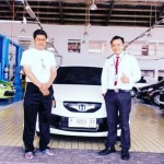 Foto Penyerahan Unit 6 Sales Marketing Mobil Dealer Honda Jember Mero