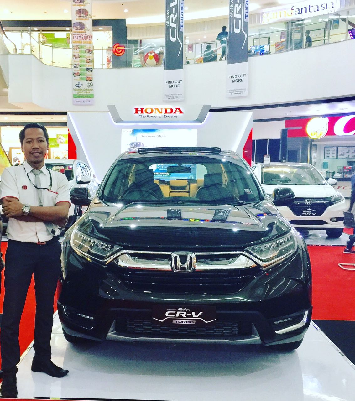 Sales Marketing Mobil Dealer Honda Jombang Djalil