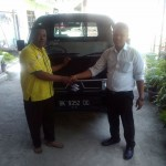 Foto Penyerahan Unit 6 Sales Marketing Mobil Dealer Suzuki Medan Abdul