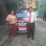 Foto Penyerahan Unit 3 Sales Marketing Mobil Dealer Honda Kranji Yusnardi