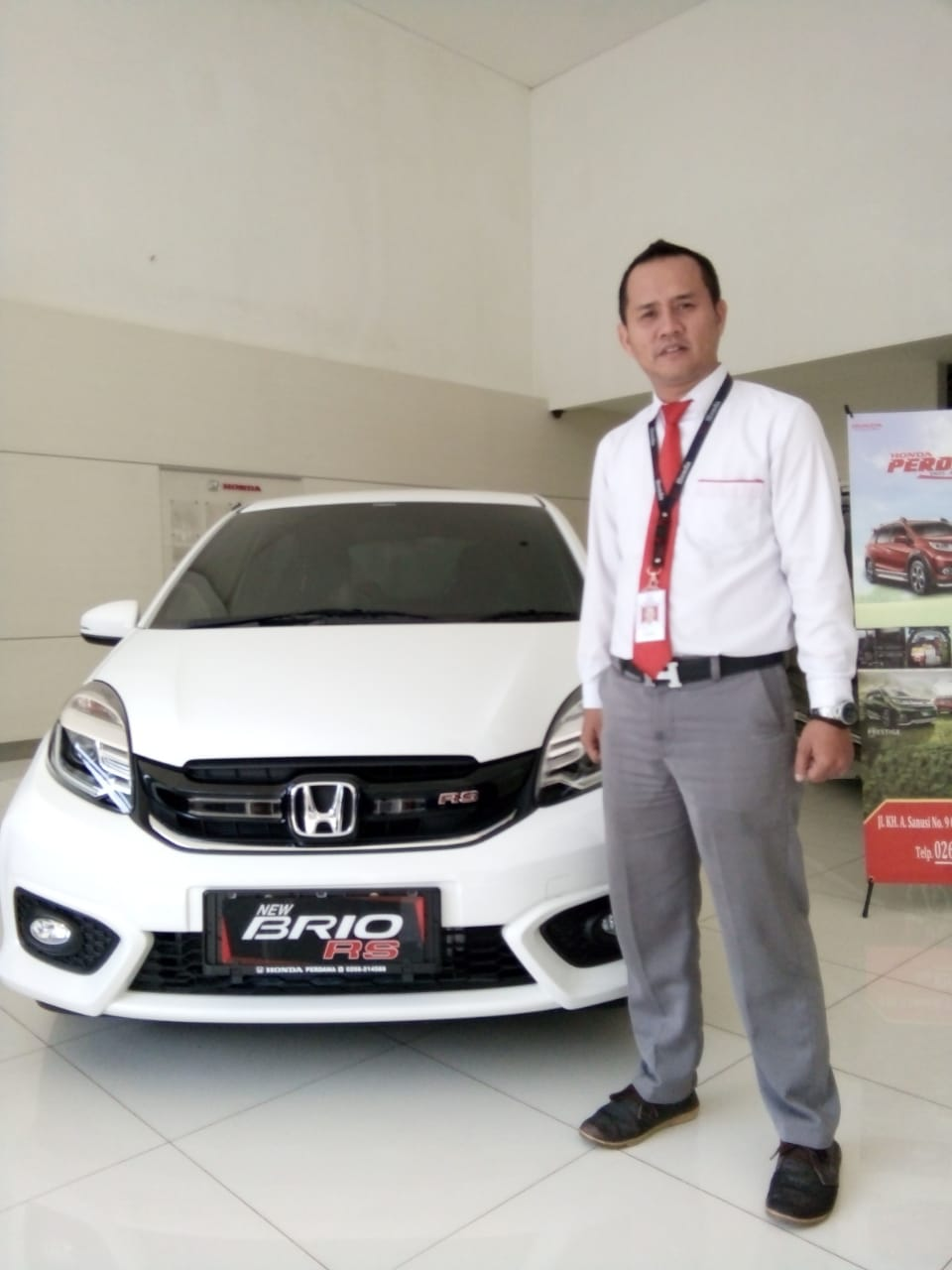 Sales Marketing Mobil Dealer Honda Ate