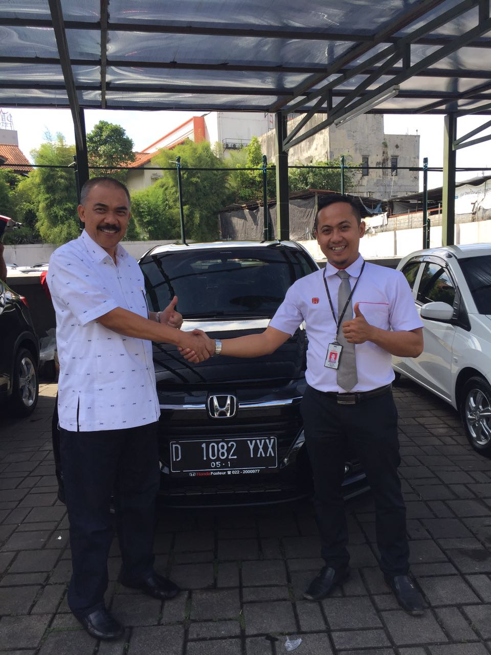 Sales Marketing Mobil Dealer Honda Bandung Fadli
