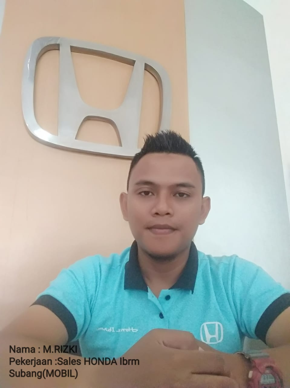 Sales Marketing Mobil Dealer Honda Rizki