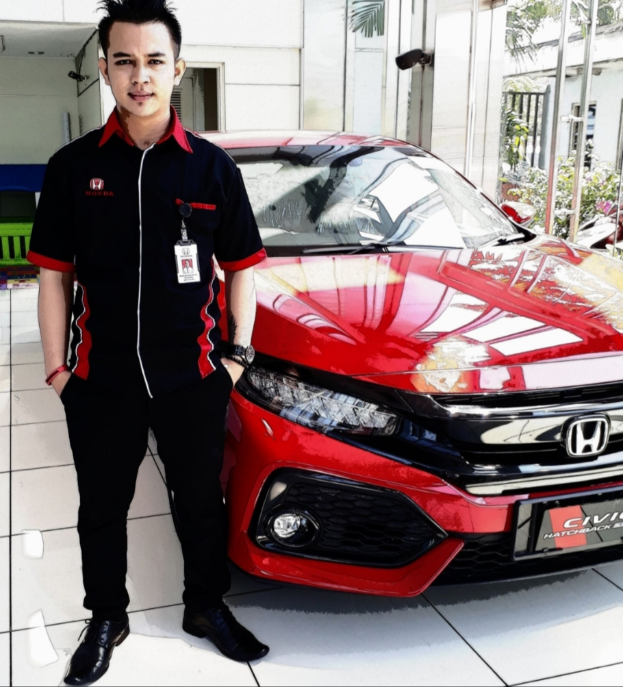 Sales Marketing Mobil Dealer Honda Hendri