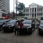Foto Penyerahan Unit 4 Sales Marketing Mobil Dealer Mitsubishi Jakarta Riyadi