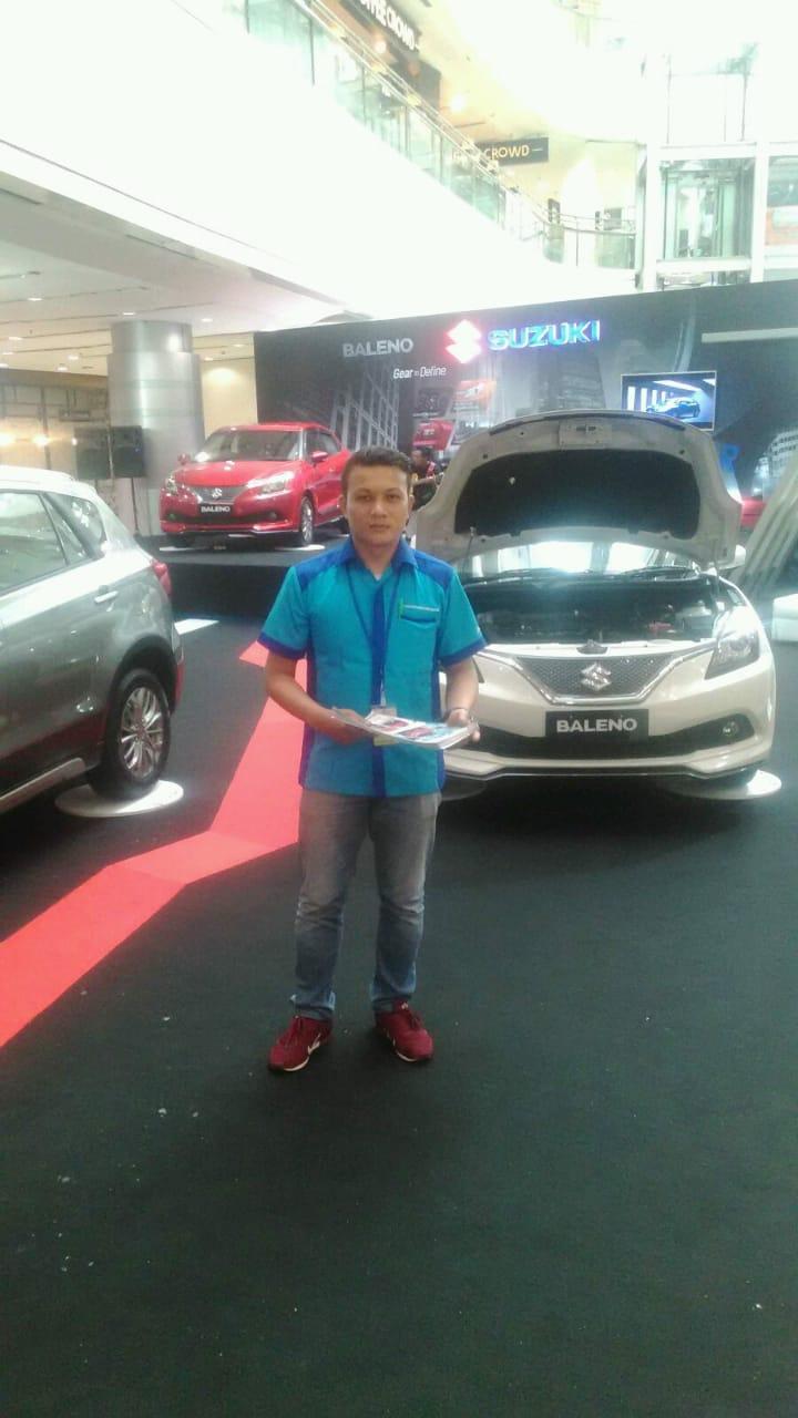 Sales Marketing Mobil Dealer Suzuki Riza